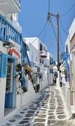 26th Aug 2019 - Street of Mykonos.
