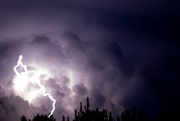 29th Aug 2019 - My first attempt to capture lightning