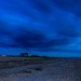 Snettisham Beach after sunset