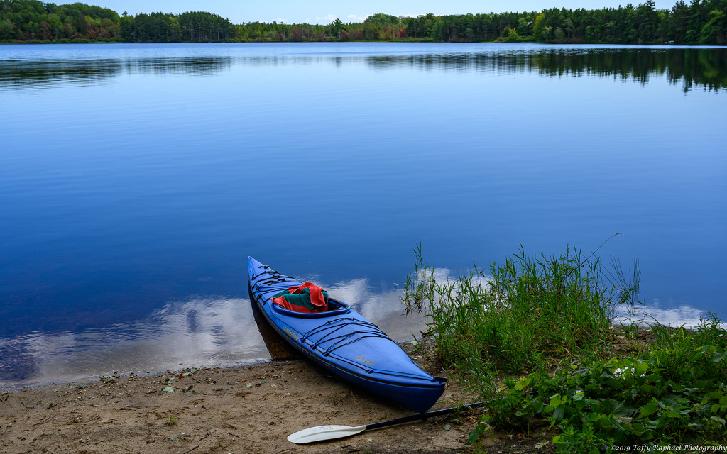 An Idyllic Day for Kayaking by taffy