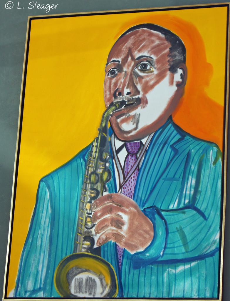 Jazz Man by larrysphotos