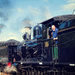 Steam locomotives 2705 and 3016 by annied