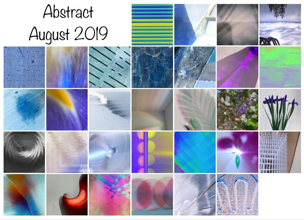 August 2019 Calendar by shutterbug49