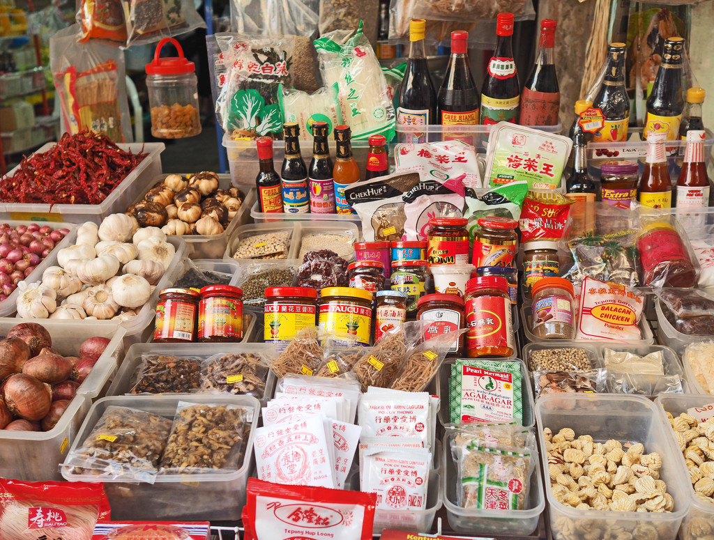 Chinese Condiments stall by ianjb21