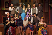 14th Aug 2019 - Gold Fever Follies cast with the kids