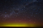 31st Aug 2019 - Aurora Australis at midnight