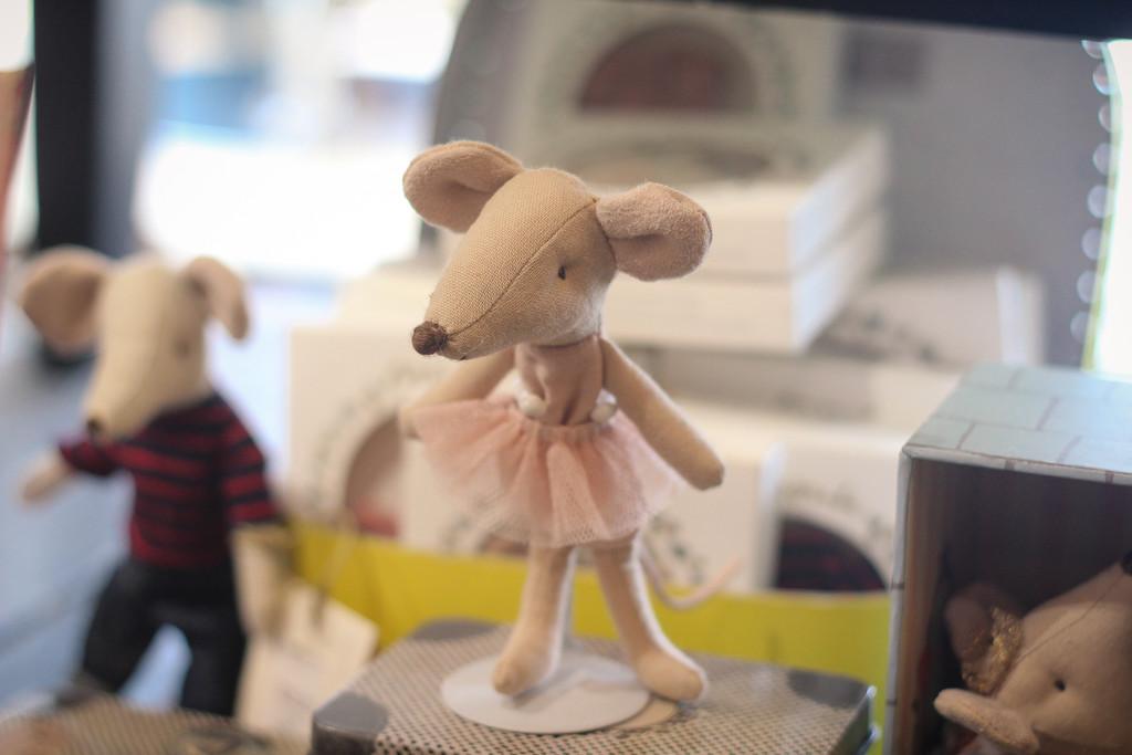 Ballerina Mouse by judyc57