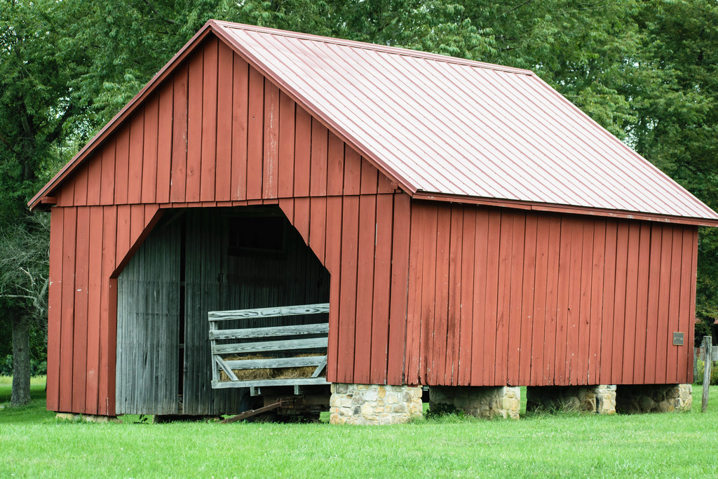 Old Farm Building  by marylandgirl58
