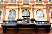 7th Sep 2019 - The balcony and its windows