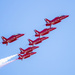 RAF Red Arrows Over The Midwest