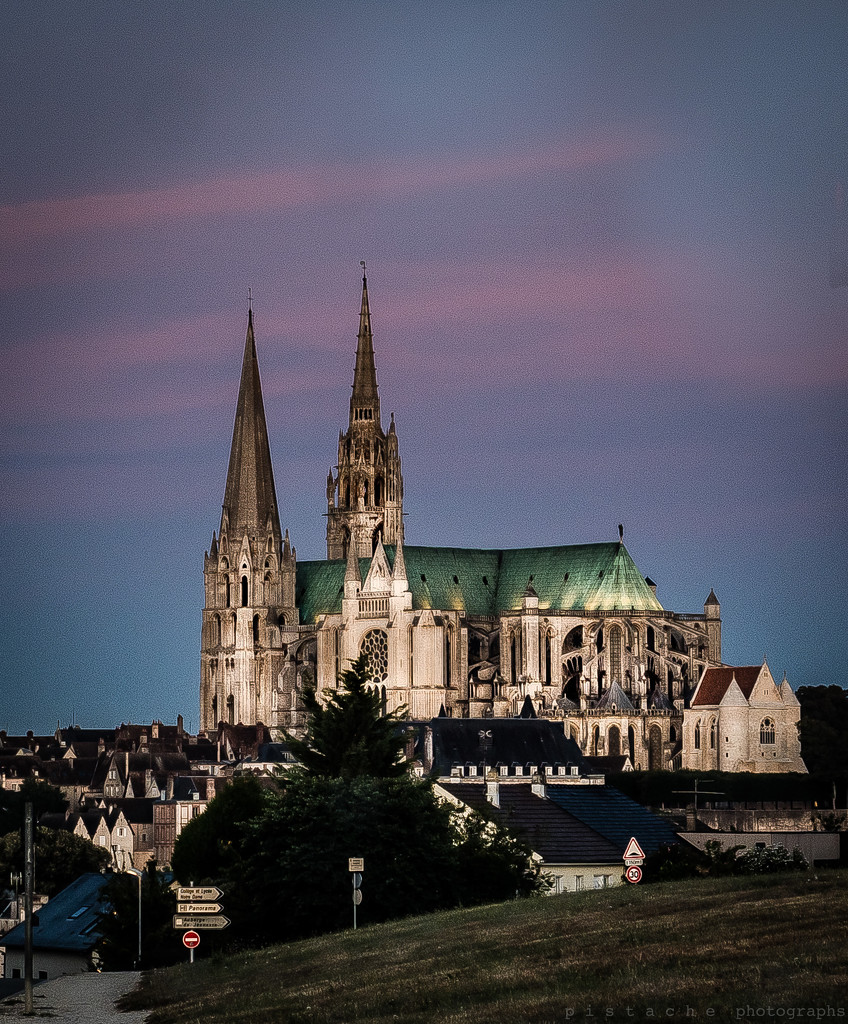 cathedral at sunrise by pistache