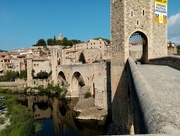 8th Sep 2019 - Medieval Bridge Besalú Catalonia