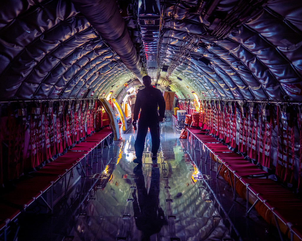 2019 Air Show - Inside The Transport Plane by rosiekerr