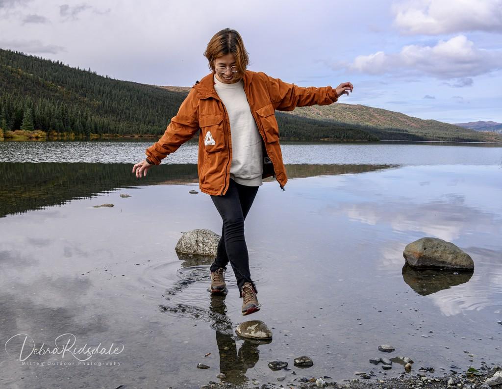 Walking on Water: Wonder Lake in Denial  by dridsdale