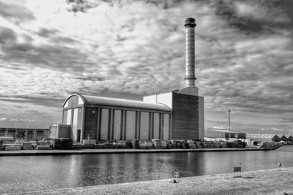 Shoreham Port B&W by 4rky