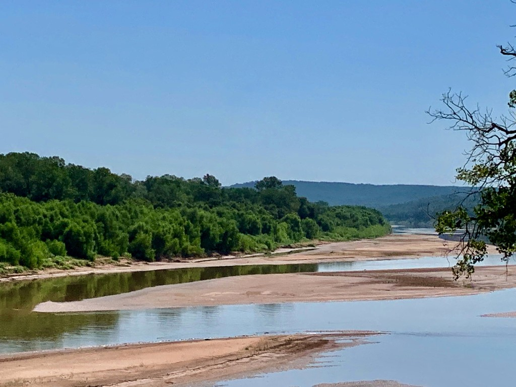 A better name for The Red River could be the The River of Sand Dunes by louannwarren