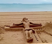 10th Sep 2019 - Sand Sculpture