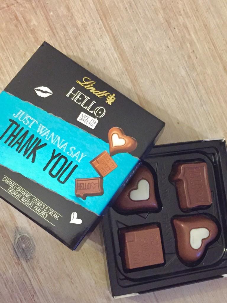 Thank you chocolates  by lilaclisa