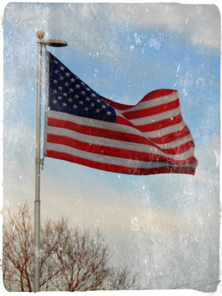 God bless America by louannwarren