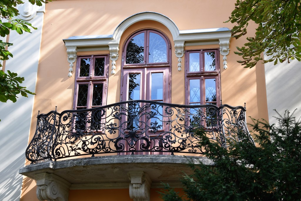 My favorite balcony in the Buda Castle by kork
