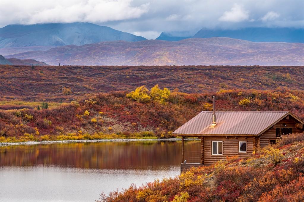 Cabin in Alaska by dridsdale