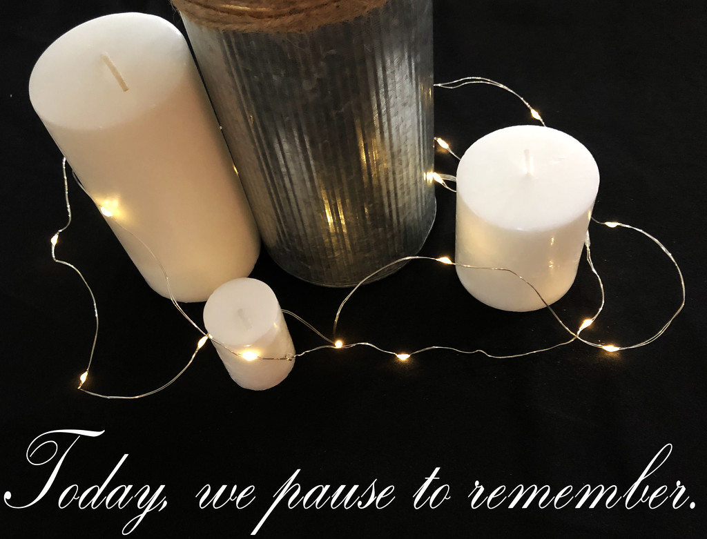 Today, we pause to remember by homeschoolmom