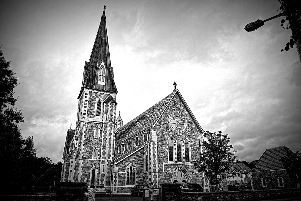 HOLY CROSS  CATHOLIC  CHURCH  by sangwann
