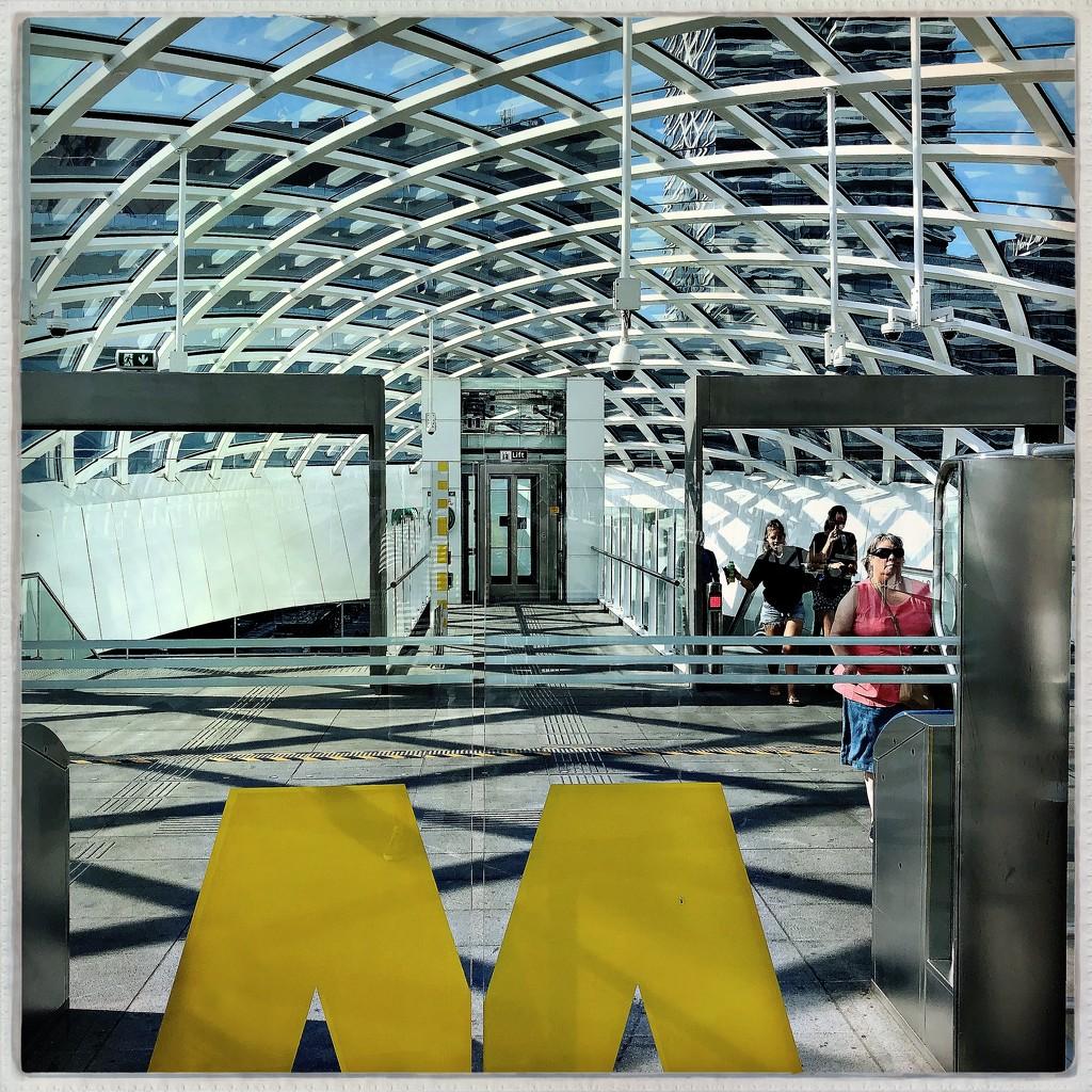 The M of Metro by mastermek