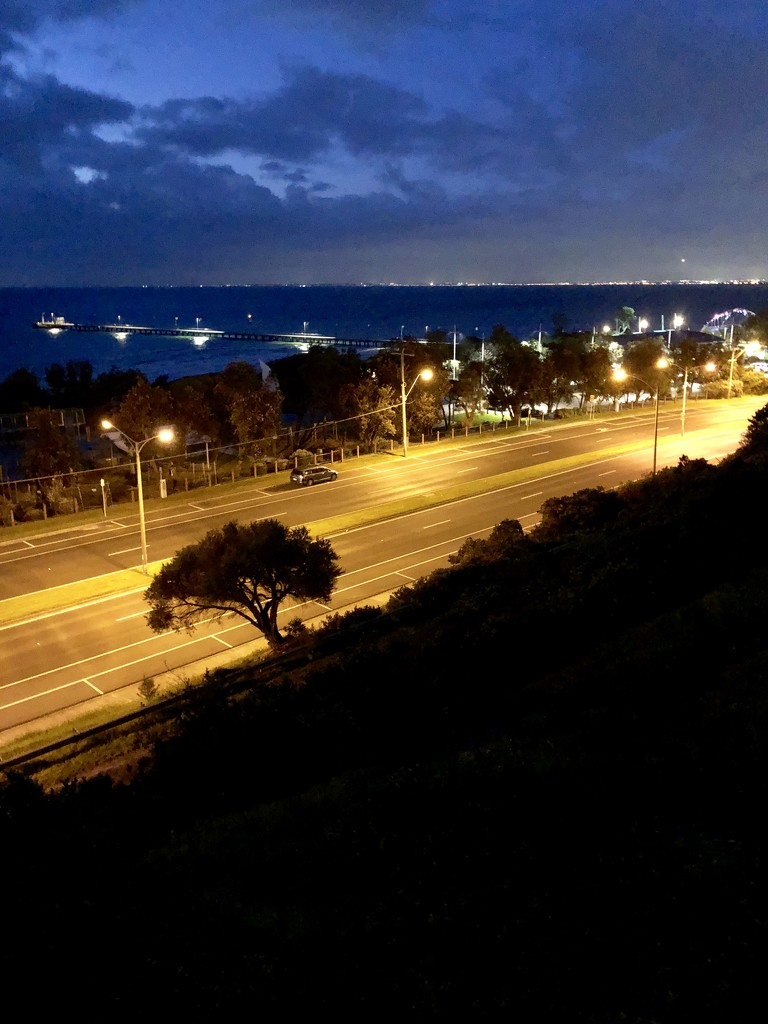 Evening view of Nepean Highway by pictureme