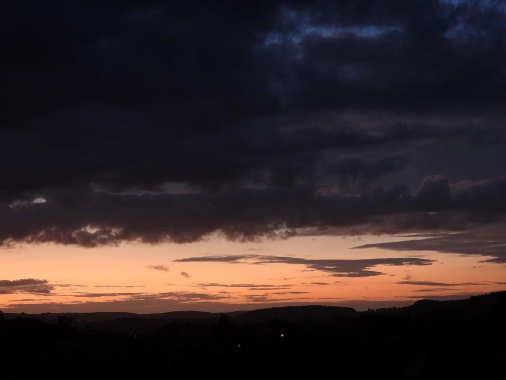 Sunset Sky by roachling