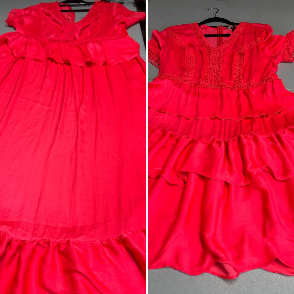 Shortening a dress by bizziebeeme