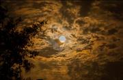 13th Sep 2019 - Moon and Cloud Shot!