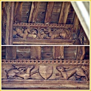 14th Sep 2019 - 15th Century Roof Carvings