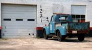 12th Sep 2019 - 1221, Blue Truck
