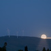 Windmill Moonrise in Livermore by mikegifford