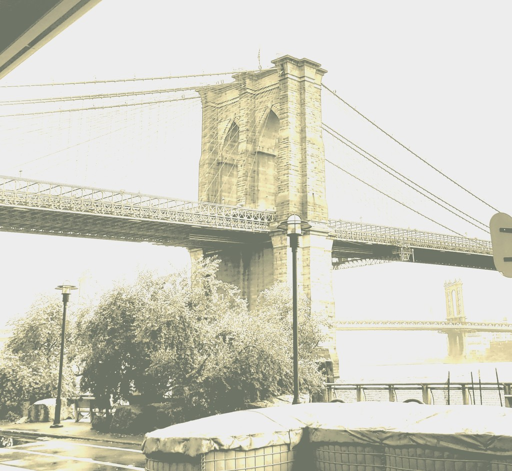 High Key Brooklyn Bridge by morrij10
