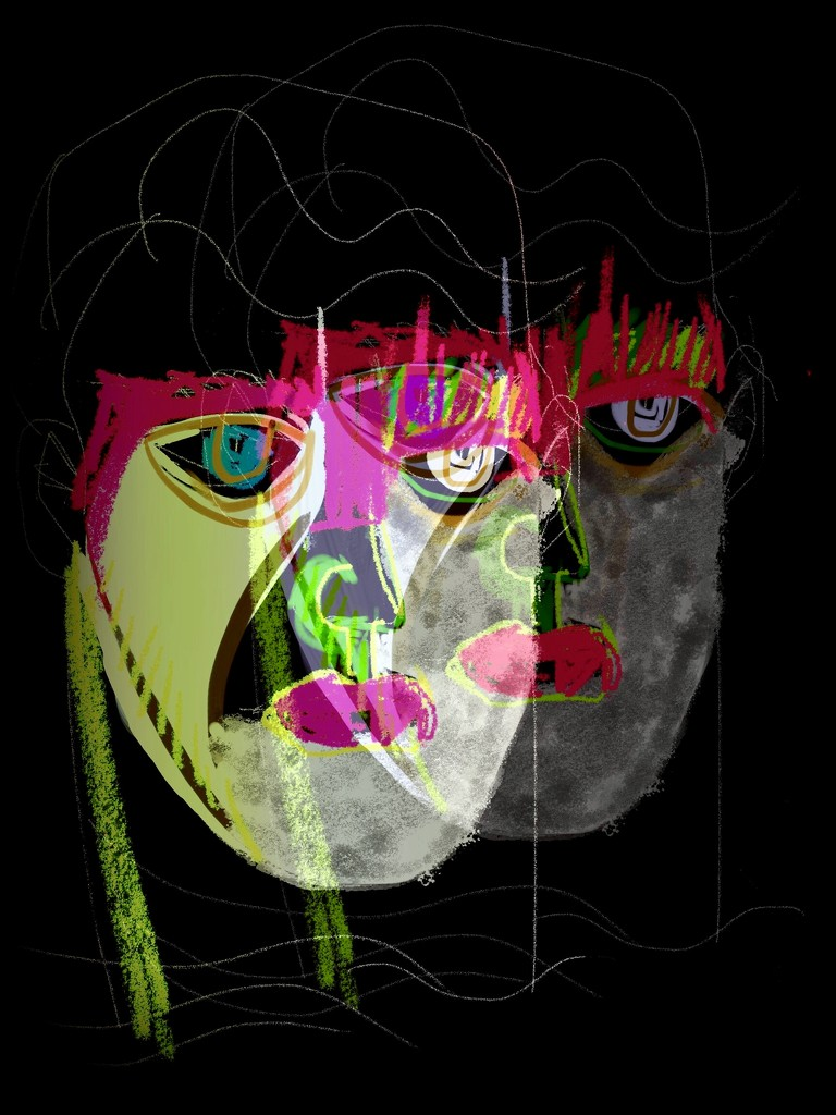 Double Mask by joemuli