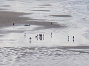 12th Aug 2019 - Morning walkers on Inch Strand