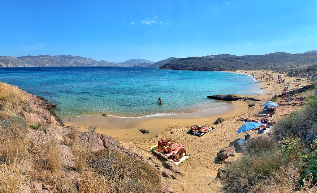 Agios Sostis beach.  by cocobella