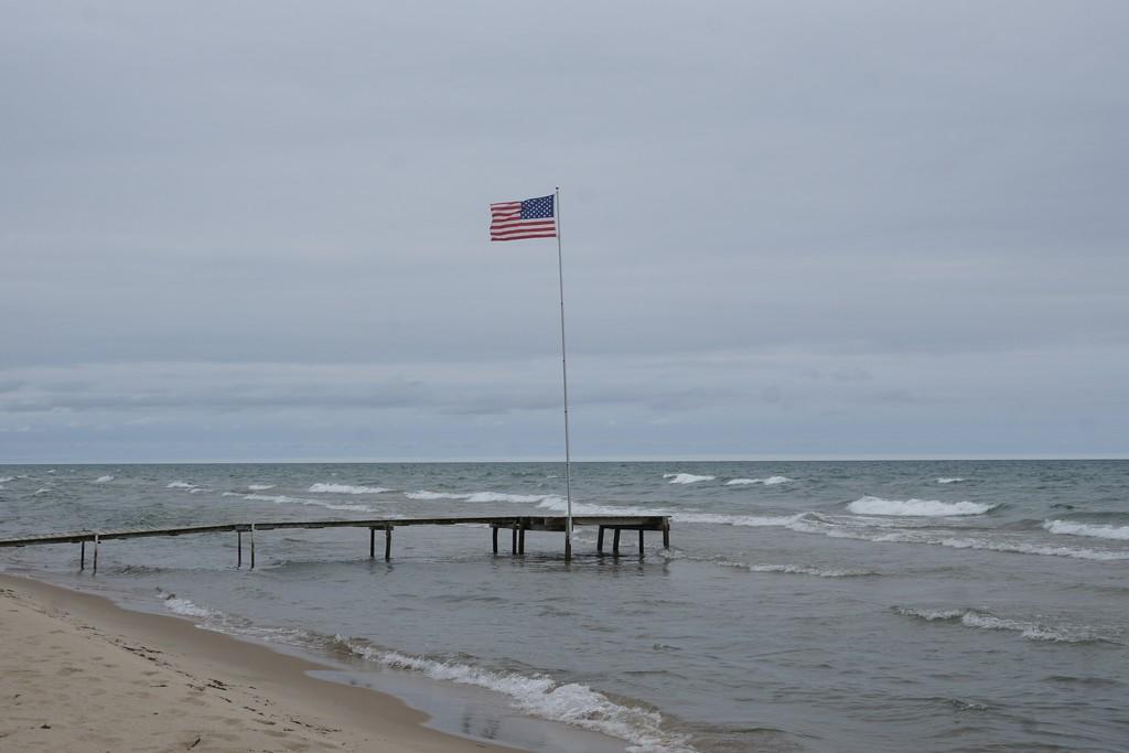 Flag/lake huron by amyk