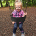 The princess is swinging!
