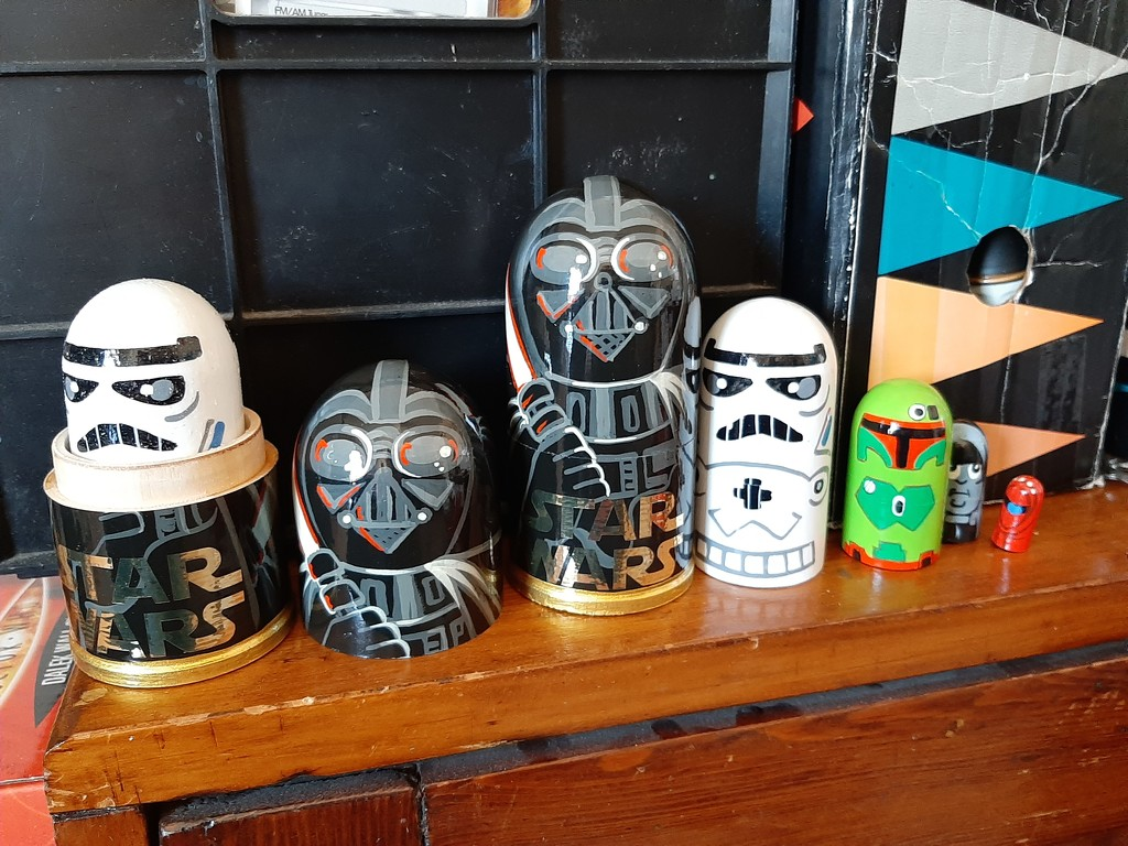 Star Wars Dolls by mozette