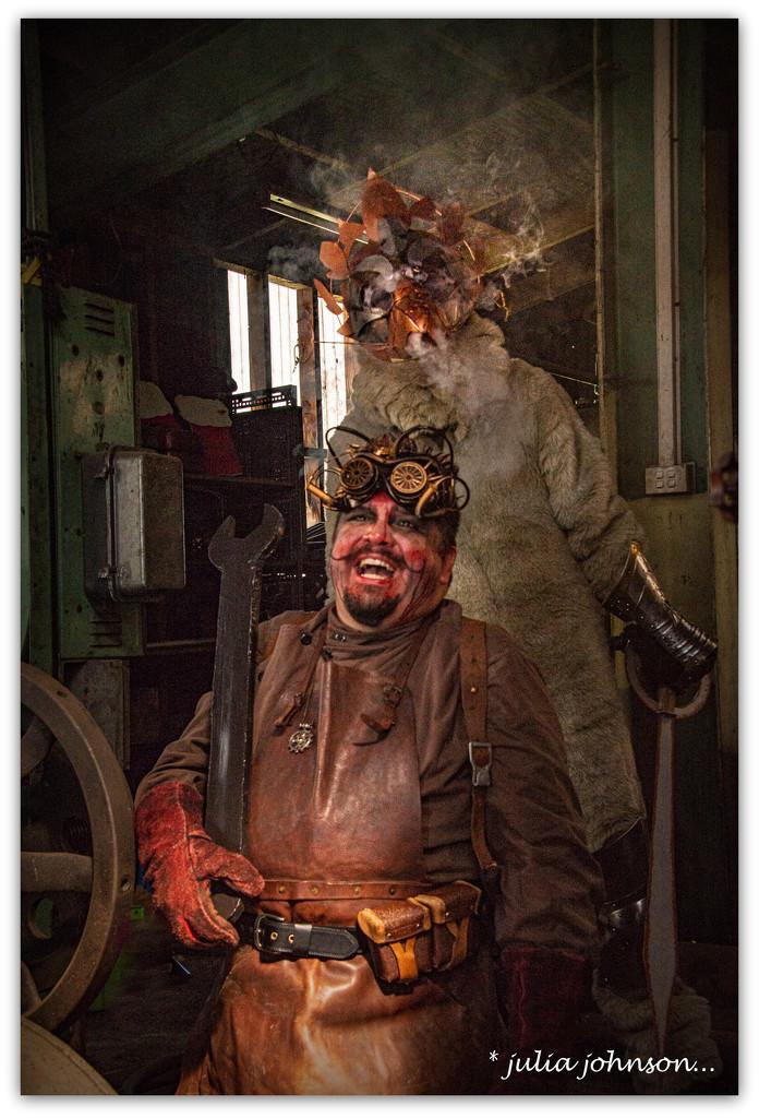 Steampunk Craziness... by julzmaioro