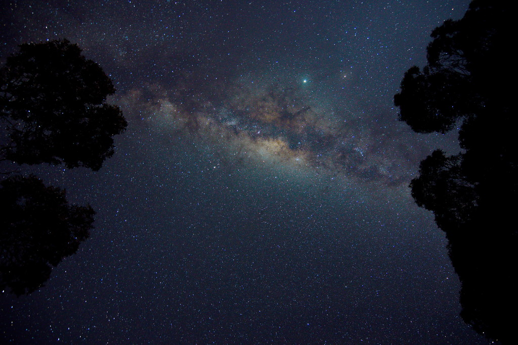 Over head ~ Milky Way ~  by kgolab