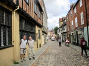 17th Sep 2019 - My Husband and Brother-in-law on Elm Hill
