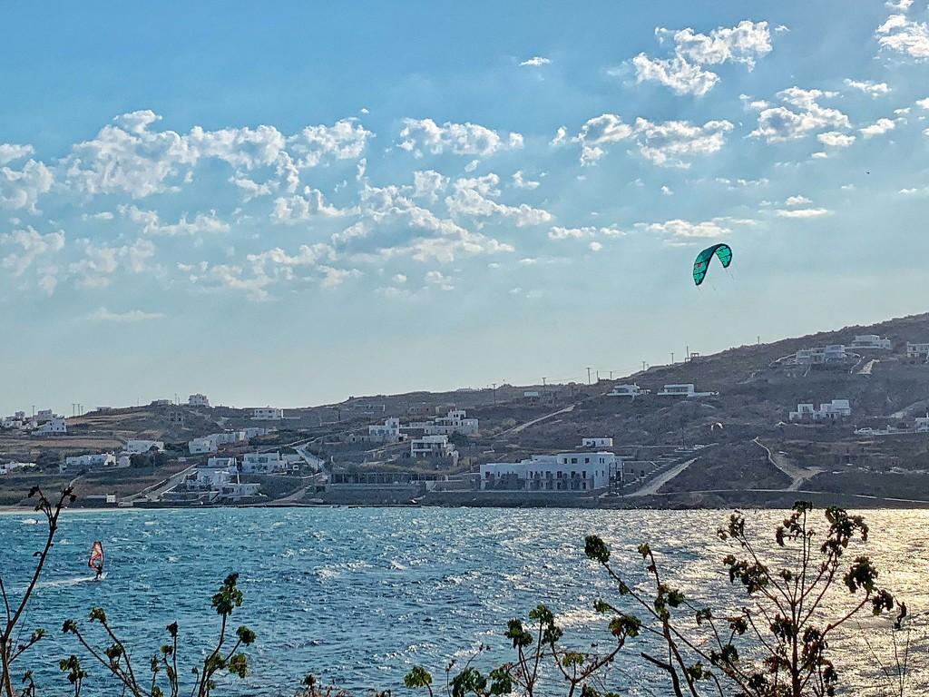 Green kitesurf.  by cocobella