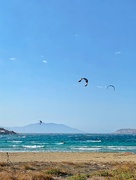 17th Sep 2019 - Three kite surfers.