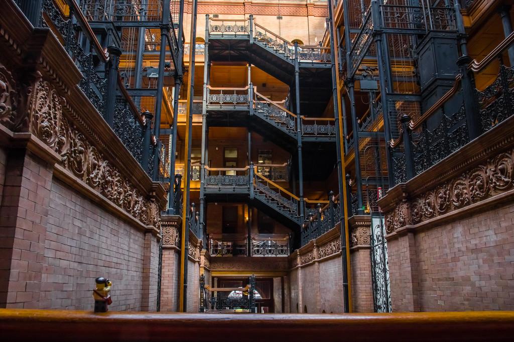 (Day 216) - The Bradbury Building by cjphoto