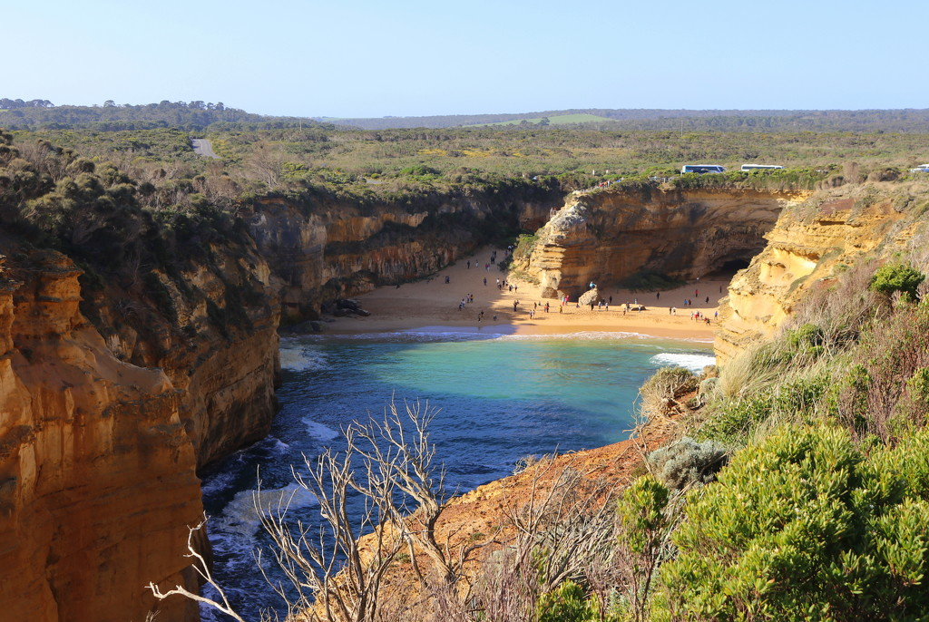 Loch Ard Gorge - looking back! by gilbertwood