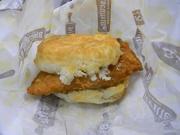 18th Sep 2019 - Chicken Biscuit Sandwich